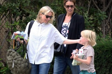 Naomi Watts Alexander Schreiber Naomi Watts Out With Her Boys in Brentwood