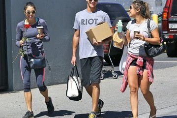 Nathan Reed Nikki Reed Spends Quality Time With Her Brother Nathan