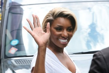 NeNe Leakes Celebrities Step out in New York City