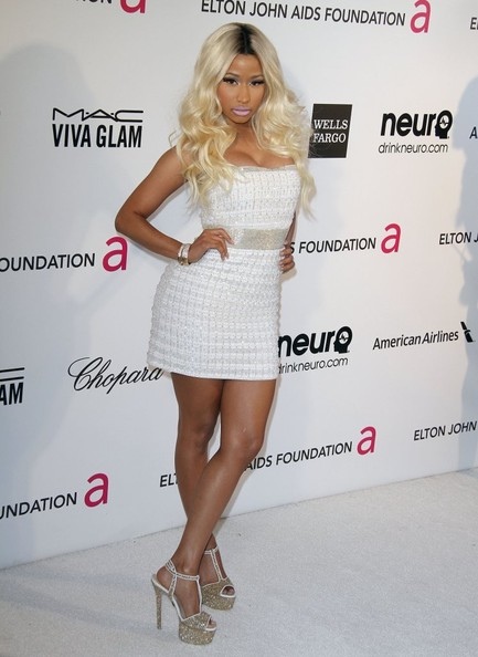 Nicki minaj photos photos the 2013 elton john aids foundation the 2013 elton john aids foundation academy awards viewing party in la voltagebd Gallery