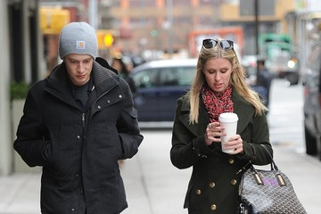 Nicky Hilton James Rothschild Nicky Hilton & James Rothschild Out For A Stroll In NYC