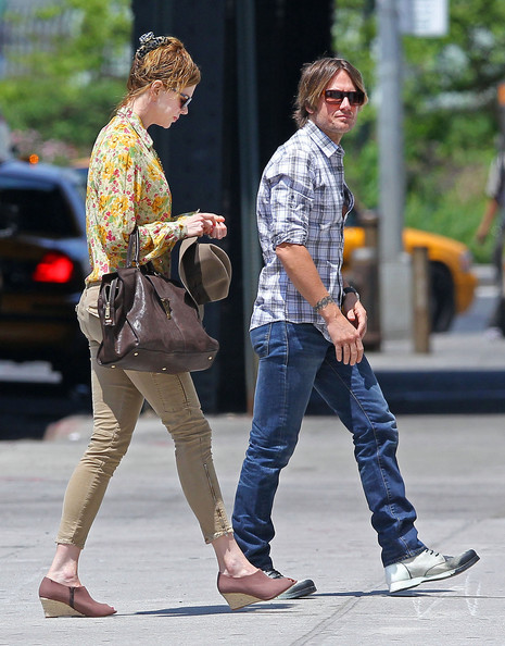 Nicole Kidman And Keith Urban Out Shopping In New York