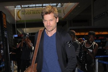 Nikolaj Coster-Waldau Nikolaj Coster-Waldau Catches a Flight