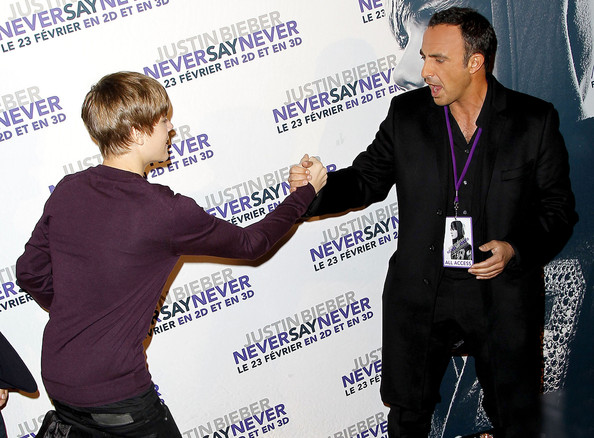 Justin Bieber At The Paris Premiere Of 'Justin Bieber: Never Say Never' 2
