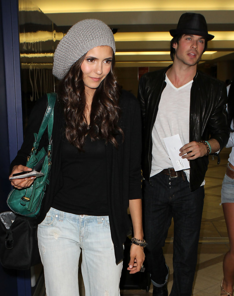 nina dating ian somerhalder Nina dobrev and ian somerhalder's showmance is over the vampire diaries costars, who play elena gilbert and damon salvatore on the cw hit series, have called it quits after more than three years.