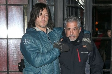 Norman Reedus Norman Reedus Leaving The Bowery Hotel