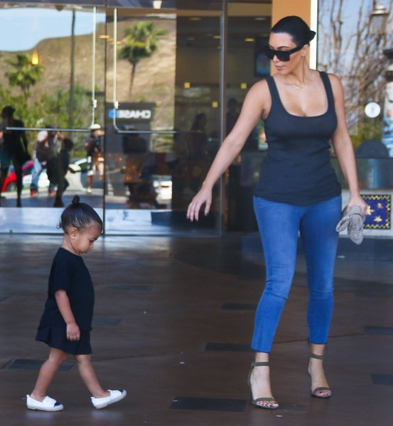 Kim Kardashian Takes North To The Movies