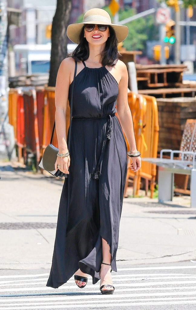 Olivia Munn Out With A Friend In New York