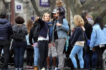 Olivia Wilde Olivia Wilde and Jason Sudeikis Take a Walk in Washington Square Park