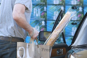 Olivier Martinez Olivier Martinez Buying Another Baguette At Bristol Farms