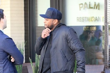 Omar Epps Omar Epps Grabs Lunch at The Palm