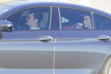 Orlando Bloom Katy Perry Katy Perry & Orlando Bloom Out For a Drive in LA