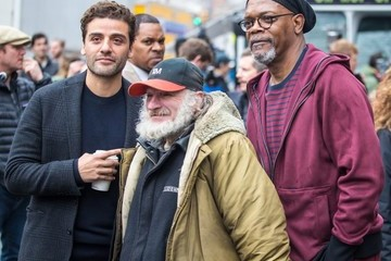 "Oscar Isaac Stars On The Set Of ""Life Itself"" In NYC"