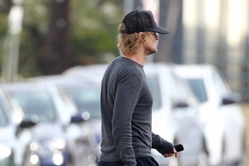Owen Wilson Owen Wilson Visits His Newborn Son