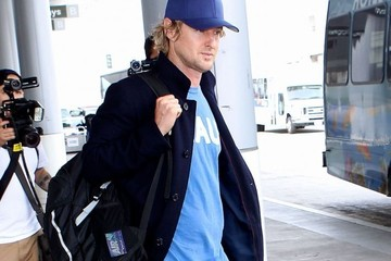 Owen Wilson Owen Wilson Arrives at LAX — Part 2