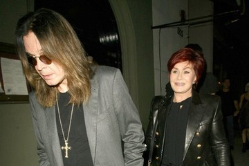 Ozzy Osbourne Celebs Dine Out At Craigs