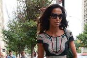 Padma Lakshmi & Her Daughter In NYC