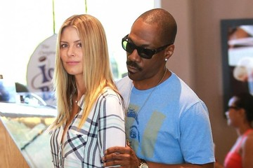 Paige Butcher Eddie Murphy Gets Touchy At Coffee Bean & Tea Leaf