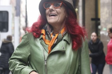 Patricia Field Patricia Field Heads Out in NYC