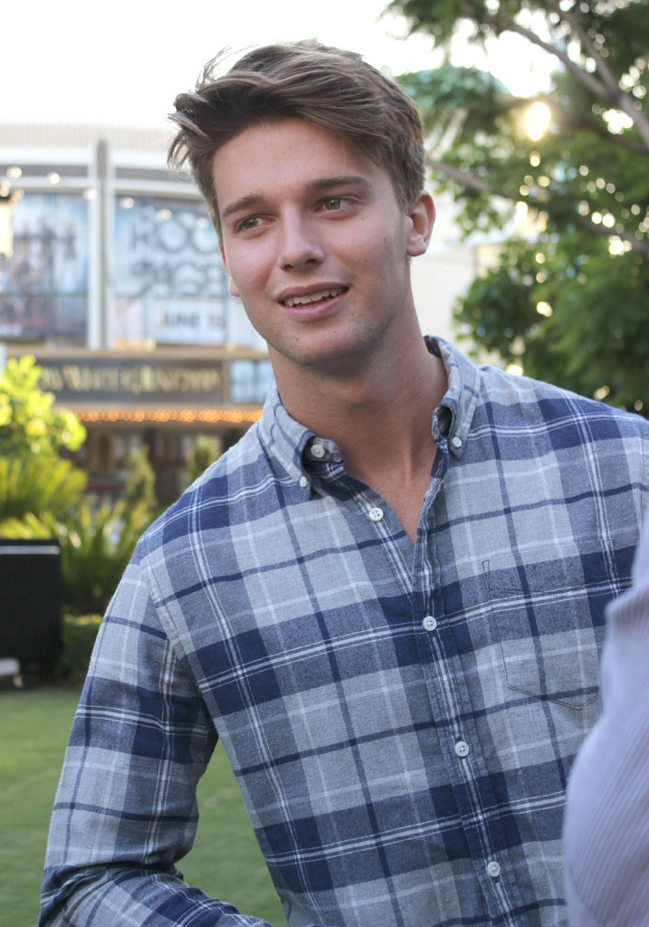 Patrick Schwarzenegger in Patrick Schwarzenegger Launches ...