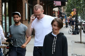 Paul Bettany Jennifer Connelly & Family Step Out in New York
