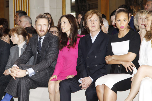 Celebrities At The Stella McCartney Fashion Show