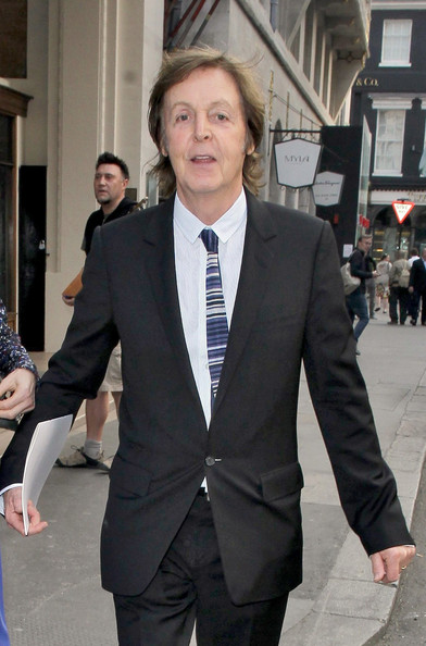 Paul McCartney - Paul McCarteny and Nancy Shevell Grab Dinner at Cecconi's
