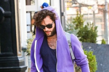 Penn Badgley Penn Badgley Out and About in NYC