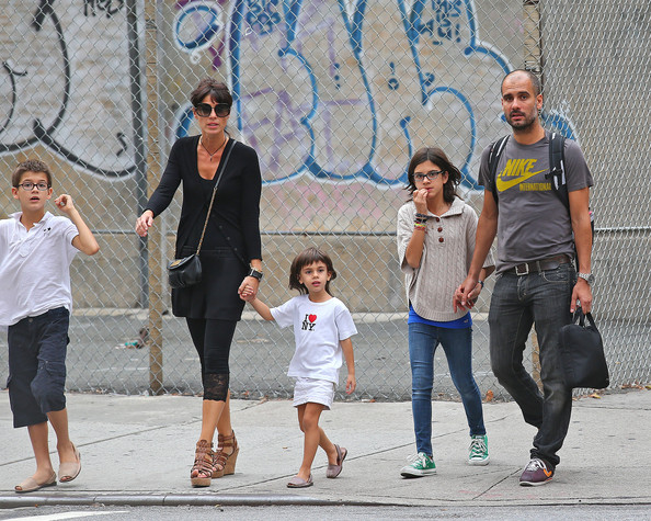 Image result for pep guardiola with his family