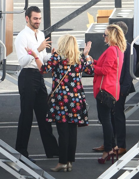 Celebs at the 'Dancing With the Stars' Studio