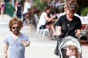 Peter Dinklage and His Family Go for a Stroll in New York