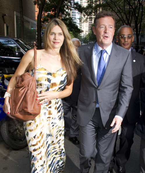 is piers morgan married. Piers Morgan and Celia Walden,
