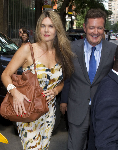 is piers morgan married. Piers Morgan and Celia Walden