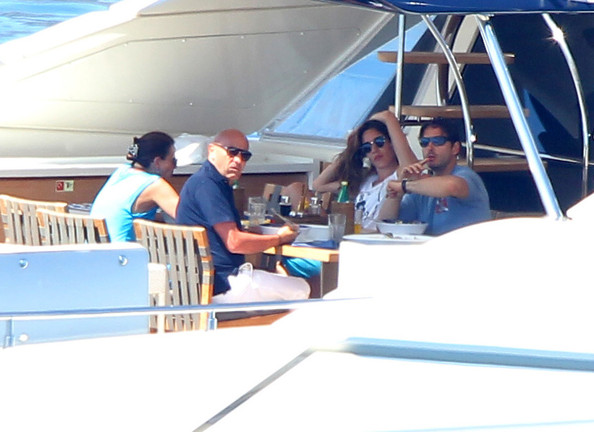 Pier Silvio Berlusconi and Family on Their Yacht in France []