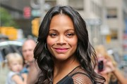 Zoe Saldana Visits 'The Late Show'