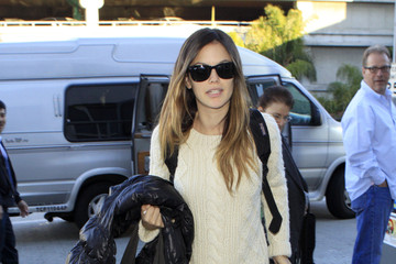 Rachel Bilson Rachel Bilson Catching A Flight At LAX Airport