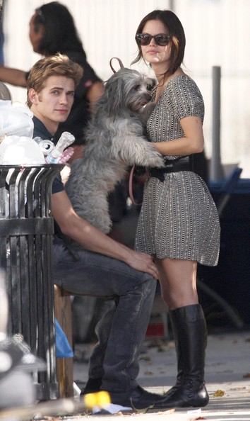 Hayden Christensen couple