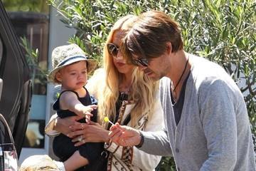 Rachel Zoe Rodger Berman Rachel Zoe And Family Out For Lunch In Brentwood