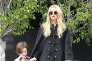 Rachel Zoe and Son Skyler Go Out Shopping in Beverly Hills