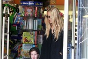 Rachel Zoe Stops By Coffee Bean With Her Son
