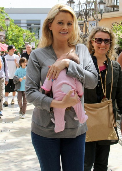 Holly Madison Out With Her Daughter