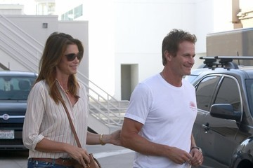 Rande Gerber Cindy Crawford Goes Out Shopping With Her Husband in Beverly Hills