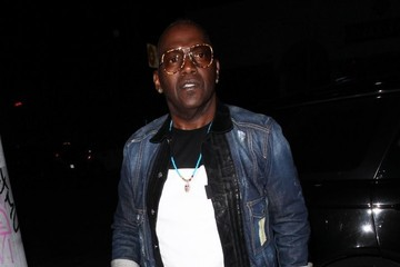 Randy Jackson Celebrities Enjoy a Night out at The Nice Guy