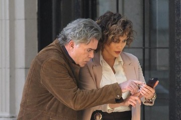 Ray Liotta Jennifer Lopez and Ray Liotta Film Perform for 'Shades of Blue' in NY