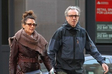 Rebecca Miller Daniel Day-Lewis and Rebecca Miller Run Erradns in NYC