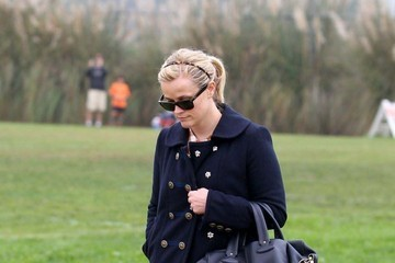 Reese Witherspoon Reese Witherspoon and Jim Toth Watch Deacon's Soccer Game with Ryan