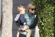 Reese Witherspoon Out with Her Son