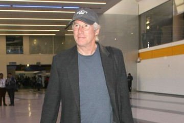 Richard Gere Richard Gere Departs From LAX