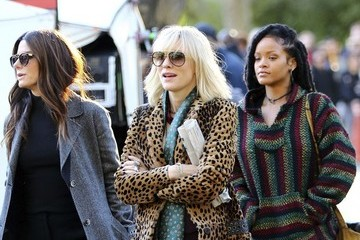 Rihanna Cate Blanchett Stars On The Set Of 'Ocean's Eight' In NYC