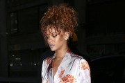 Rihanna Goes out for Dinner in NYC